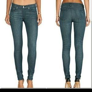 Rag &Bone Stretch Pinner Skinny Jeans Sz 31